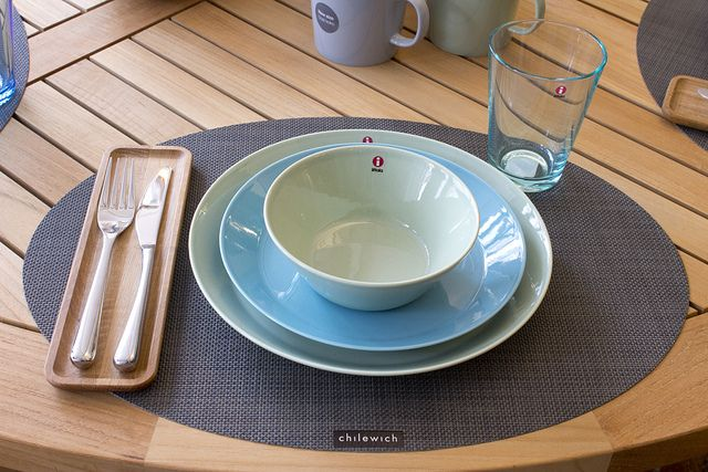 iittala Teema Dinnerware in our Weekly Table Setting