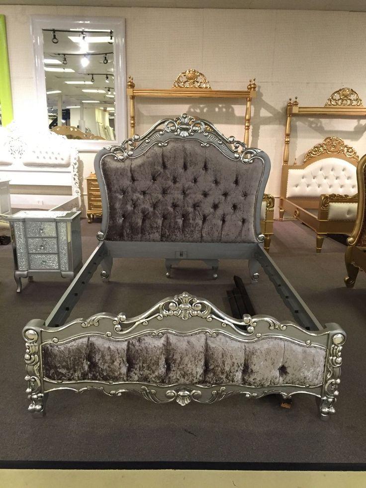 upholstered queen bed sale 1
