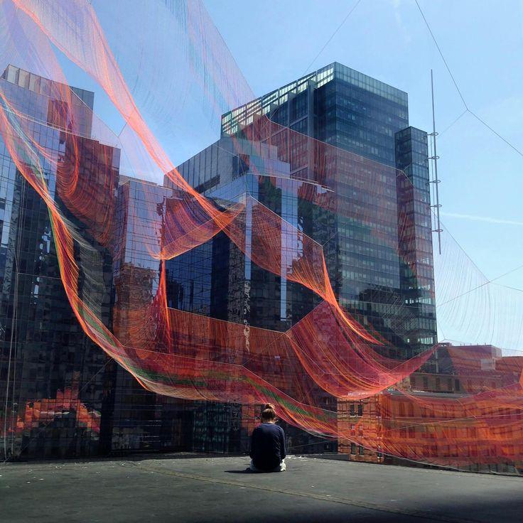 Architects of Hope Build Massive Public Art Installation