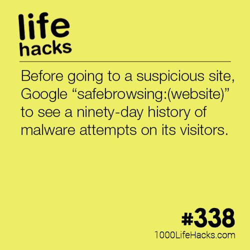 The post Check Potentially Unsafe Websites appeared first on 1000 Life Hacks.