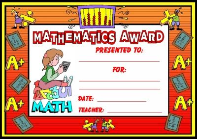 free download �mathematics award certificate� use this