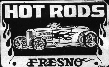 Hot Rods Of Fresno Car Club Logos Pinterest Home And
