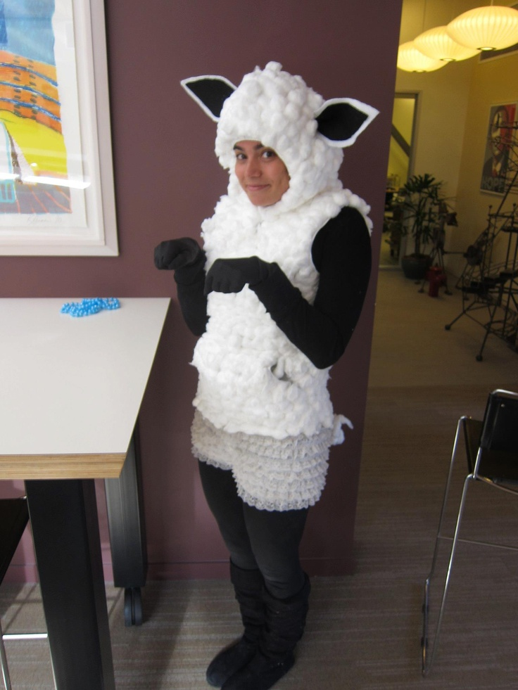 How To Make A Sheep Dog Costume For Kids