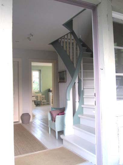 Boden und Treppe in 'Architect's Delight', Handlauf in 'Margarete'