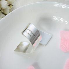 Serviettes de mariage - $6.49 - personalisé Alliage en zinc Rond de serviette  http://www.dressfirst.fr/Personalise-Alliage-En-Zinc-Rond-De-Serviette-118030921-g30921