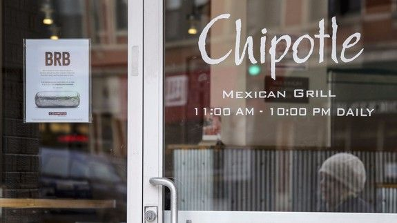 """Oh no Chipotle nooooo  Just when you thought you were safe ... norovirus is back at Chipotle.  A Chipotle location in Sterling Virginia closed after several customers got sick after eating there. The website iwaspoisoned.com tracked illness among the Chipotle customers who reported vomiting diarrhea fevers and stomach pain.   """"We are working with health authorities to understand what the cause may be and to resolve the situation as quickly as possible"""" Jim Marsden Chipotle's executive…"""