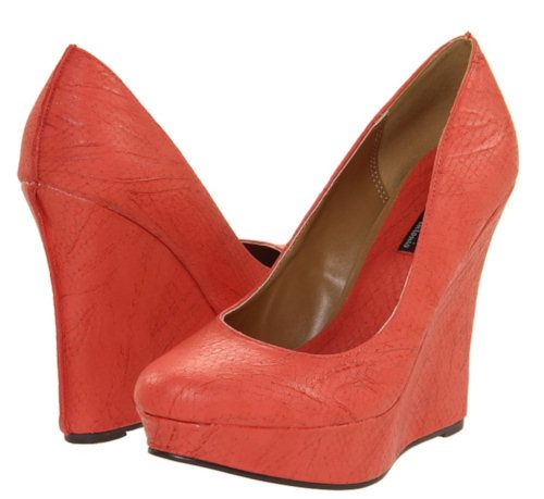 coral wedge heels homecoming prom prom shoes