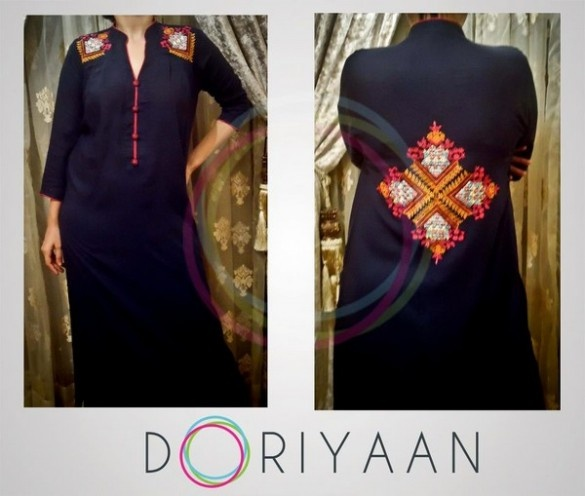 Doriyaan is ready to wear clothing brand designed to cater the modern day woman who values real quality over priced value. Doriyaan was formed to create clothing inspired by the young and independent woman target market! Designs by Doriyaan are modern yet unique, stylish yet original and at a very affordable cost!