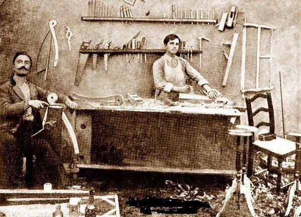 Elazığ, the American College of Harpoot Carpenter Carpentry Shop, circa 1900