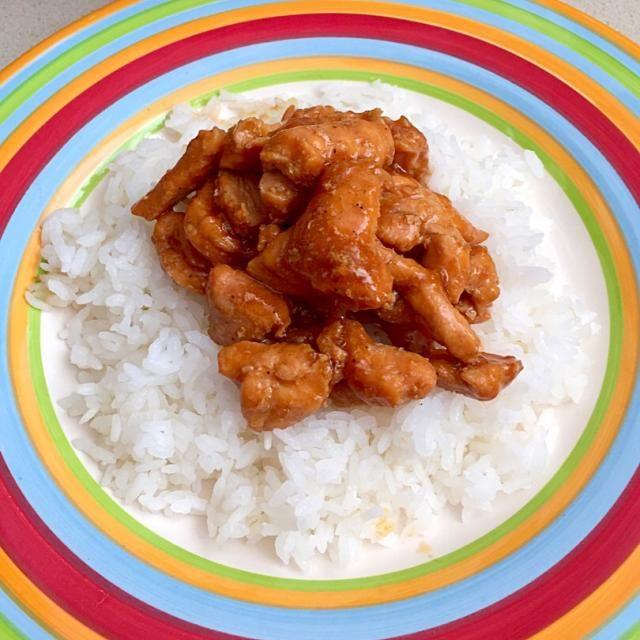 レシピとお料理がひらめくSnapDish - 41件のもぐもぐ - Pollo Teriyaki en una cama de Arroz by Loreley