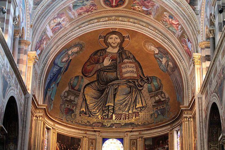 Cimabue - Majestas Domini (Christ in Majesty). Cattedrale di Pisa. Pisa (Italy). circa 1285