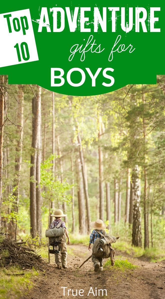 Top 10 adventure gifts for boys - STEAM activities, toys for builders, gifts for active kids and more!