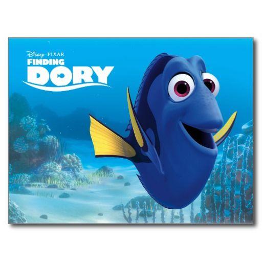 Dory | Finding Dory #tarjeta #postal #postcard