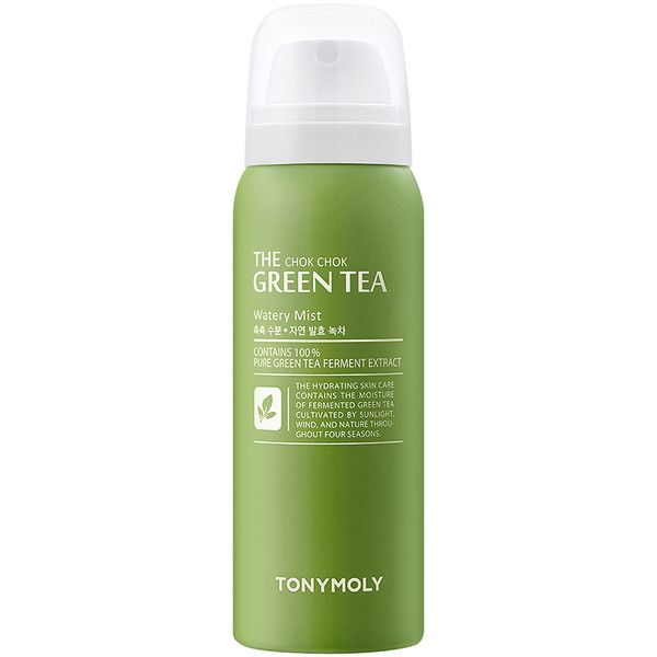 Tonymoly The Chok Chok Green Tea Watery Mist 13 Liked On Polyvore Featuring Beauty Products Skincare Face Green Tea Face Pure Green Tea Face Moisturizer