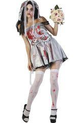 Disfraz nvia zombie mujer