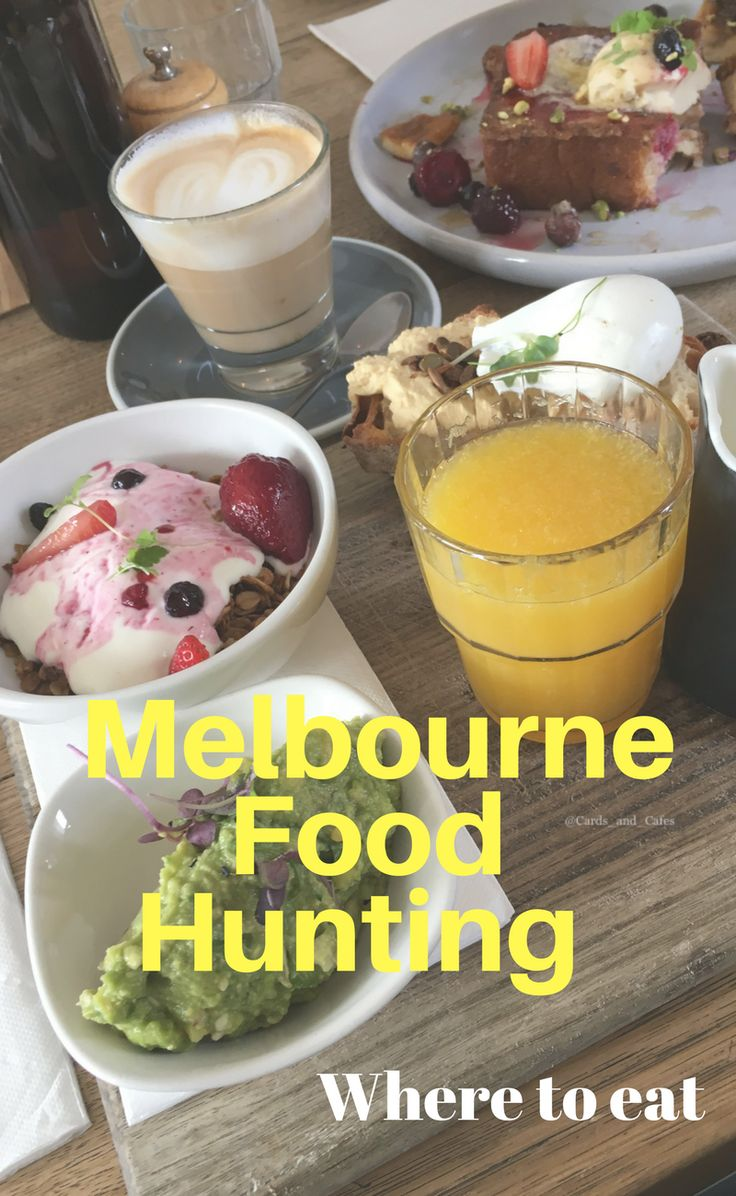 Melbourne food hunting // where to eat breakfast, brunch and lunch in melbourne Australia... pancakes, waffles, eggs ....
