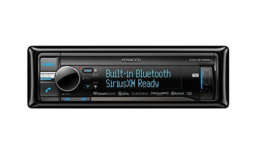 Kenwood KDC-BT858U In-Dash 1-DIN CD/MP3 Receiver with Bluetooth. New Kenwood KDC-BT858U In-Dash 1-DIN CD AUX/USB MP3 Car Audio Receiver Bluetooth. TDF(Theft Deterrent Faceplate). CD Door / Cover. 3Line Full Dot LCD Display. Rotary Encoder and Direct Key (TEL) for easy operation.