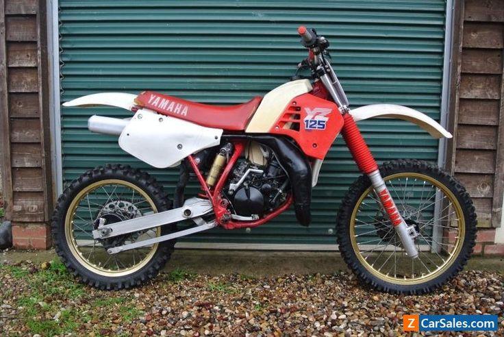 YAMAHA YZ 125 1986 MOTOCROSS EVO SUPER EVO USA IMPORT. #yamaha #yz #forsale #unitedkingdom