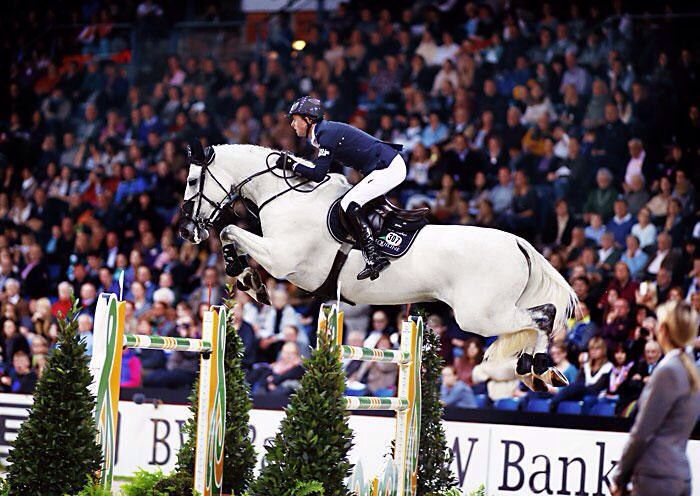Ben Maher and Cella. Great show jumping team :)
