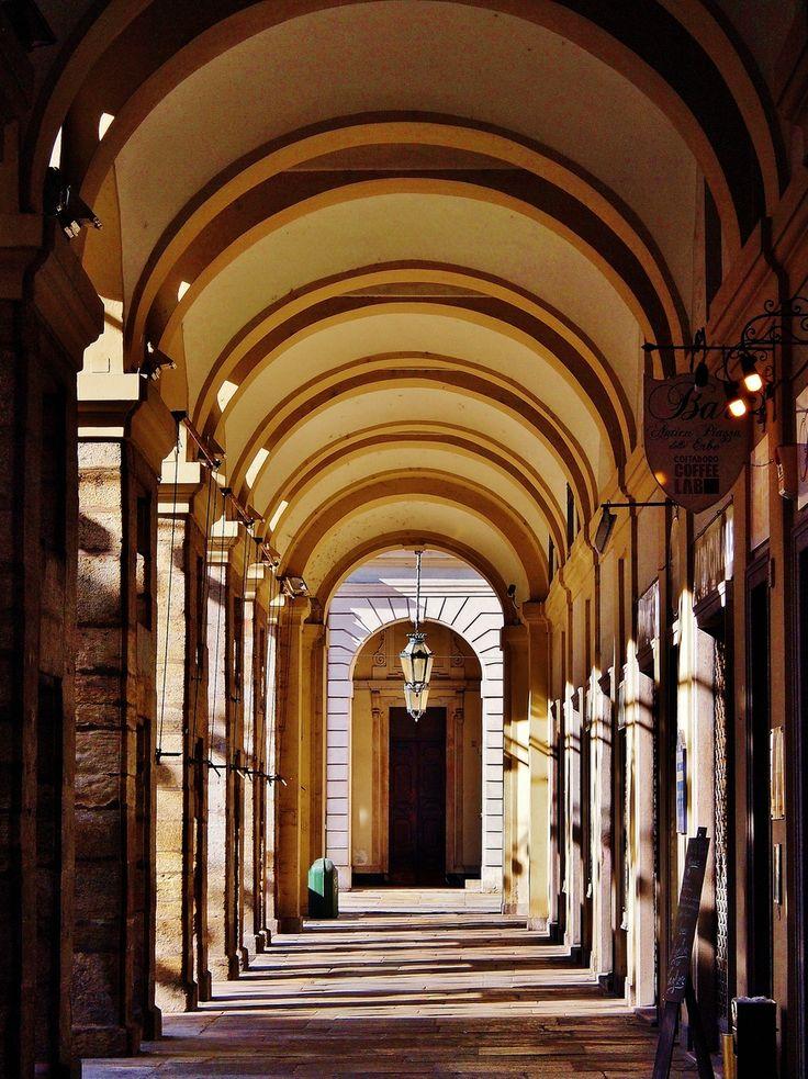 Turin, Portici di Piazza Palazzo di Città