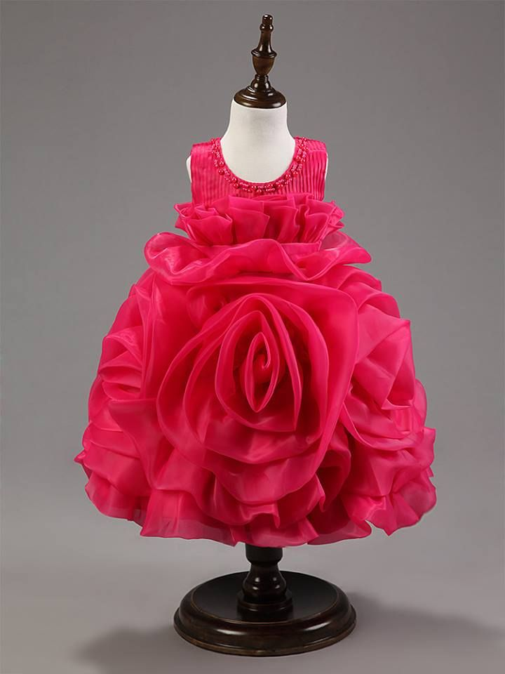 Beautiful Rose Party Dress Dresses Dresses Flower