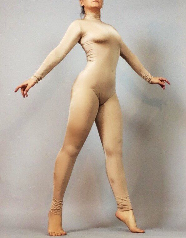unitard nude