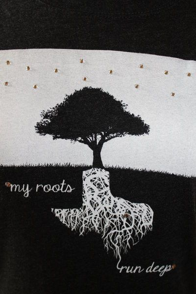 The roots of this tree are in the shape of Texas, but we can change it to look like Korea or Seoul.