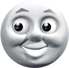 Printable Thomas Face . . for halloween costume or other crafty ideas.