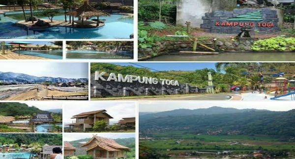 Kampung toga tempat wisata terlengkap di sumedang ini memadukan antara wisata alam pedesaan yang masih sangat alami dan dilengkapi dengan berbagai permainan menarik bagi para pengunjung