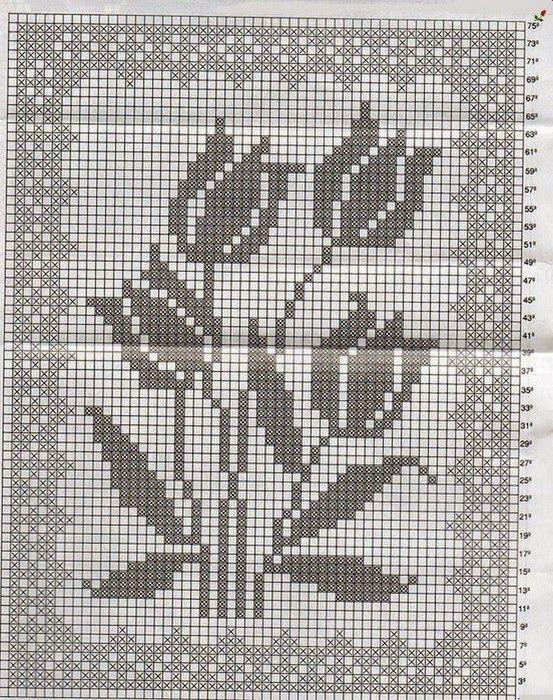 Crochet Knitting Handicraft: Carpets