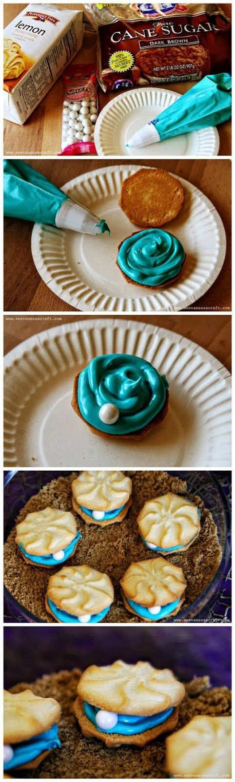 Very Best Pinterest Pins: Oyster Cookies