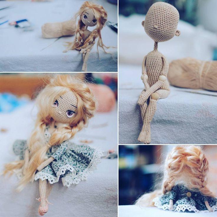 """184 Beğenme, 11 Yorum - Instagram'da Deberdeeva Mira (@mira_loves_dolls): """"Какую бы куклу вы хотели видеть следующей? Шарнирную/каркасную/мягкую? С какими волосами? Цвет…"""""""