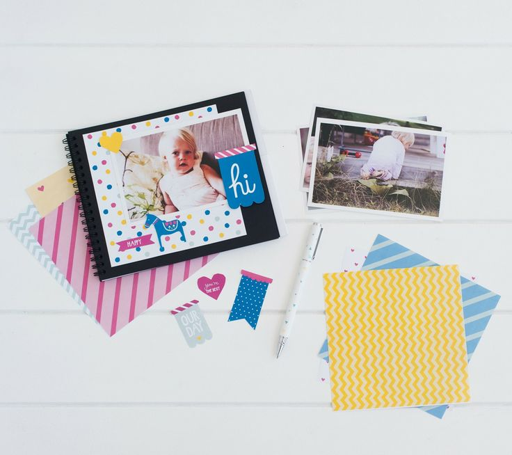 Great! by Kikki K. With 30 blank pages, you're able to document a month of your life in this inspiring Photo A Day Album. Add in Stickers, Stamps and paper cut outs to bring your photos to life and turn 30 days of moments into keepsake memories.