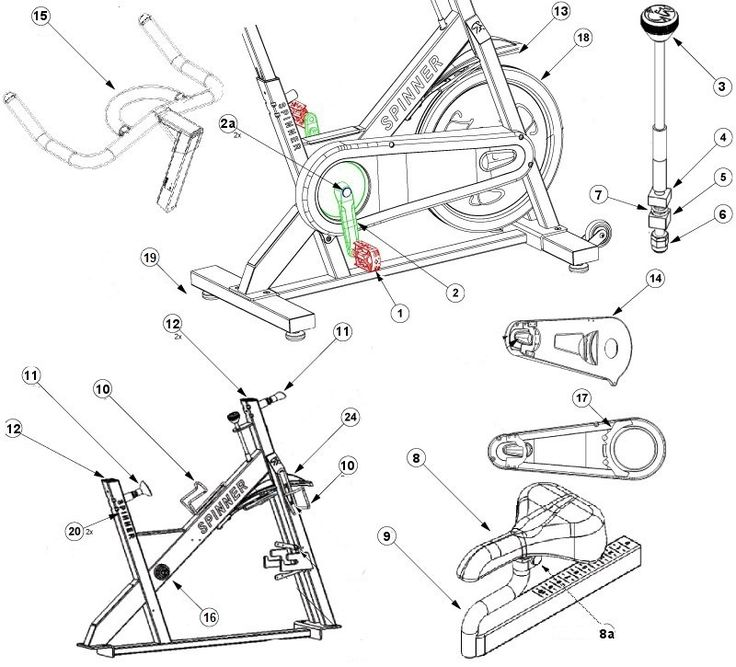 Airdyne Replacement Parts : Best images about exercise bike parts on pinterest