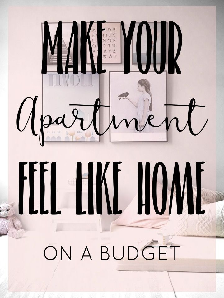 Make Your Apartment Feel Like Home (On a Budget