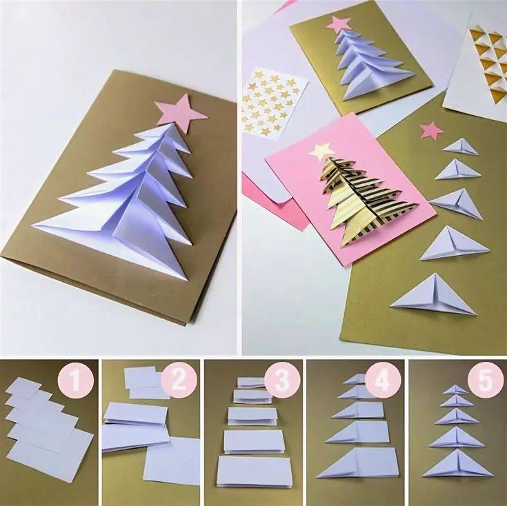 представлены сделать рождественскую открытку своими руками в школу пошагово простой взять ткань