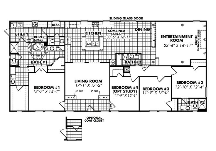 17 best images about triple wide modular homes on for Idaho house plans