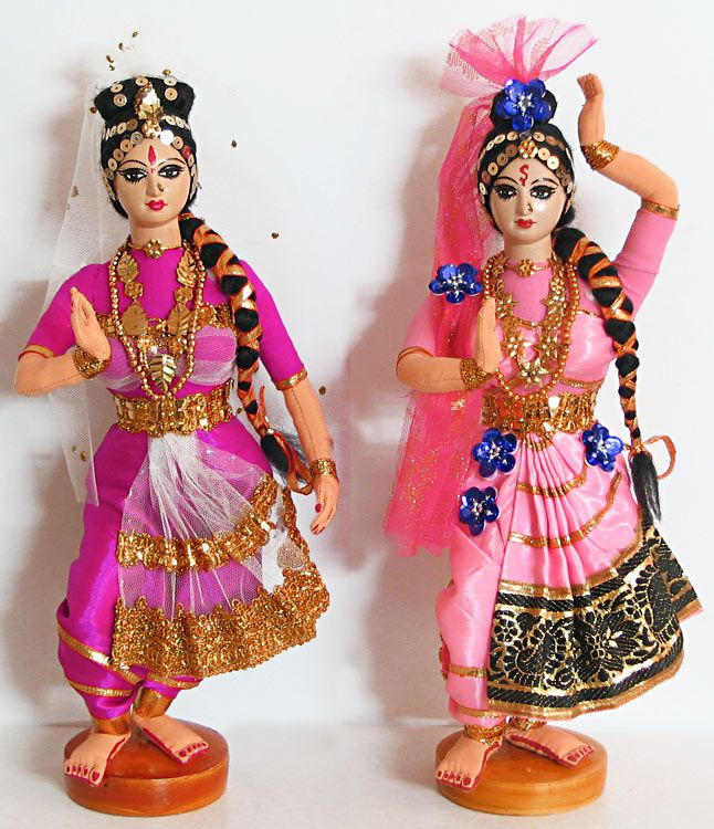 Kuchipudi - Classical Dancers from Andhra Pradesh - Cloth