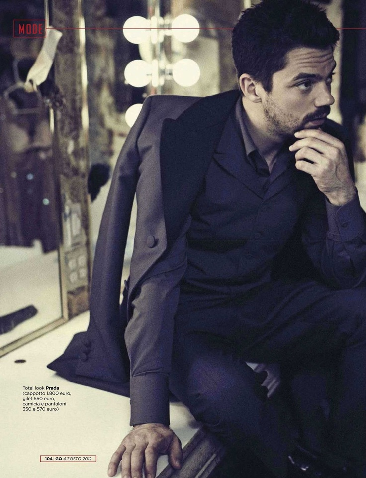 Dominic Cooper, no but really, I love this man.