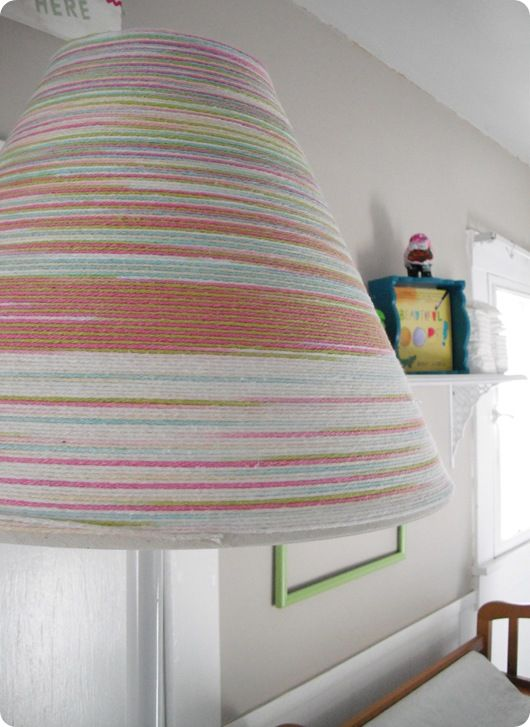 New Nursery Lamp Shade Shades, Nursery, Diy