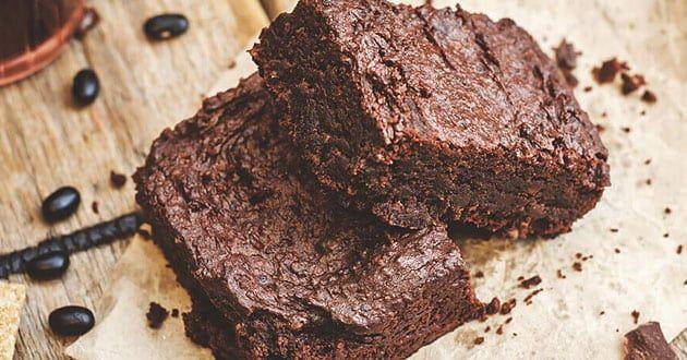 Saftiga Brownies Med Protein Ricetta Brownies Proteici Ricette Idee Snack