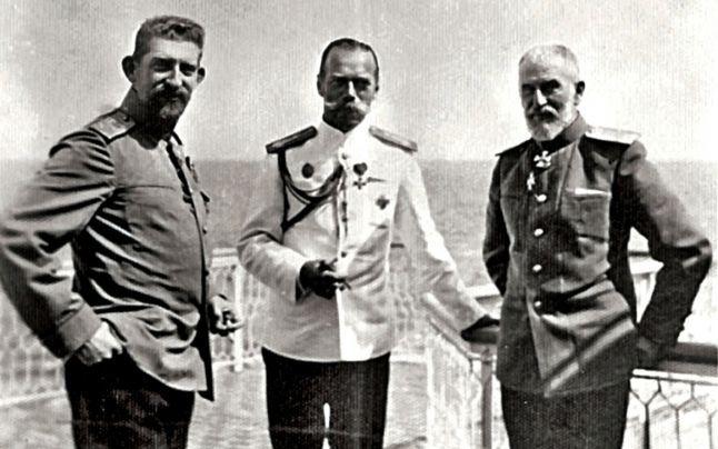 Constanţa, 1914. Întâlnirea istorică dintre Ţarul Nicolae al II-lea al Rusiei şi Regele Carol I al României. Apoi a izbucnit războiul