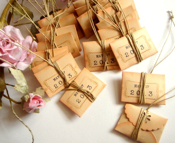 Items Similar To 100 Unique Wedding Favor Personalized Thank You Miniature Vintage Favors On Etsy