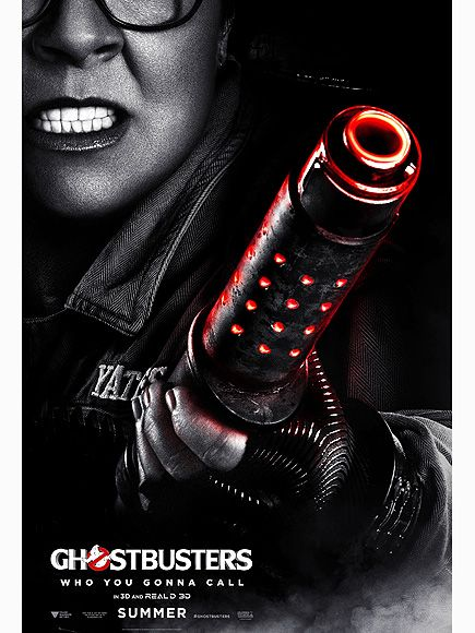 See Melissa McCarthy Ready to Take Down the Supernatural in Ghostbusters Character Poster http://www.people.com/article/ghostbusters-character-poster-melissa-mccarthy