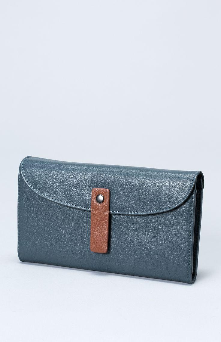 The Falun Women's Leather Wallet | Elk