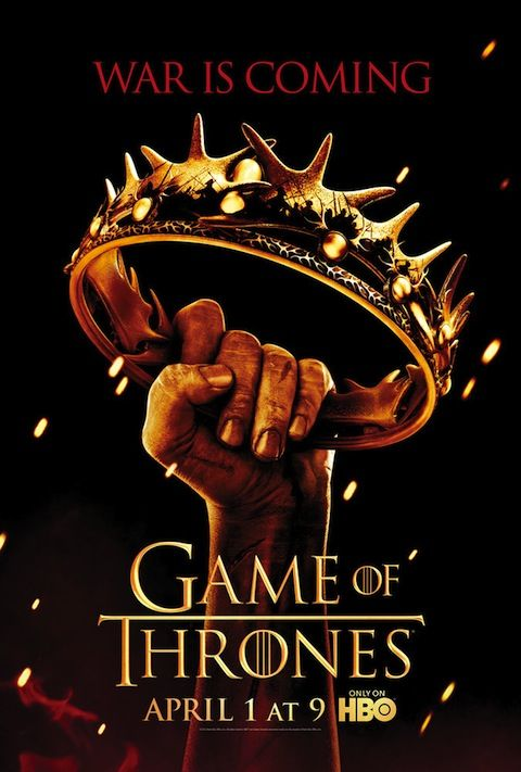 Game Of Thrones Season 2 Poster: A Golden Crown