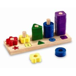 Learning Resources - Figuras de madera de colores: Amazon.es: Juguetes y juegos