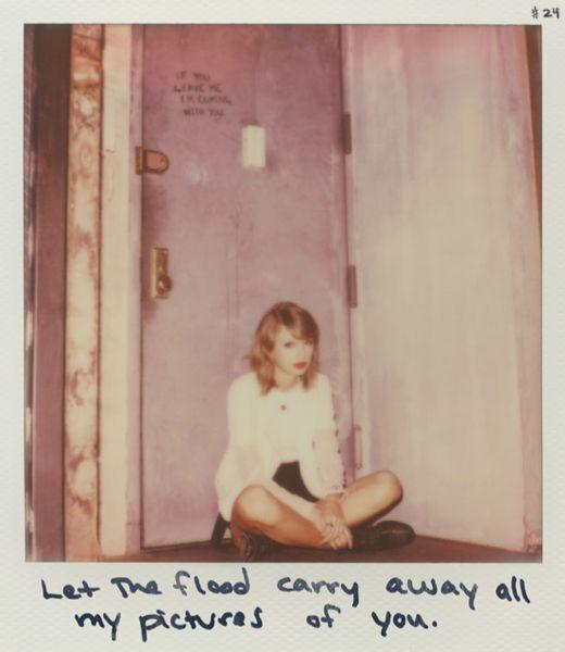 Taylor Swift Polaroid 24 - Clean #1989