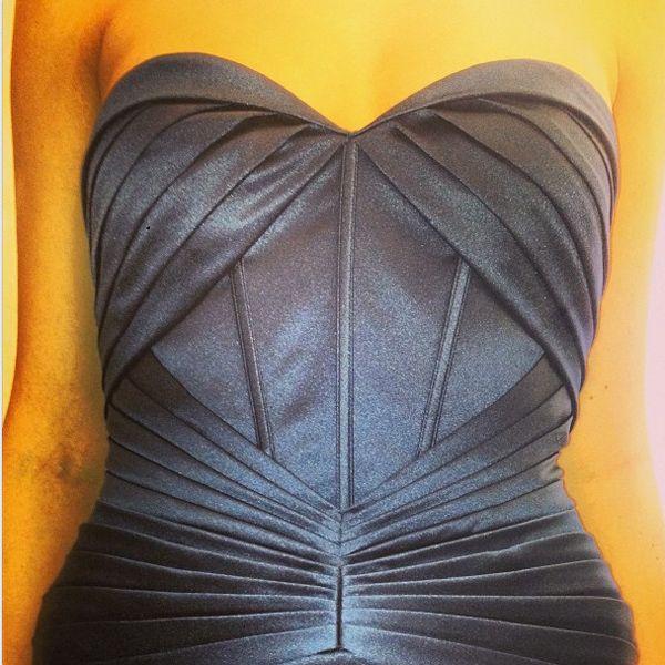 truly zac posen gown