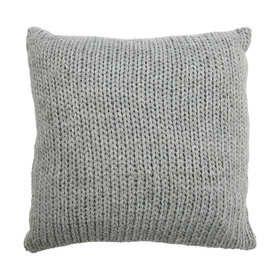 Knit Cushion - Grey